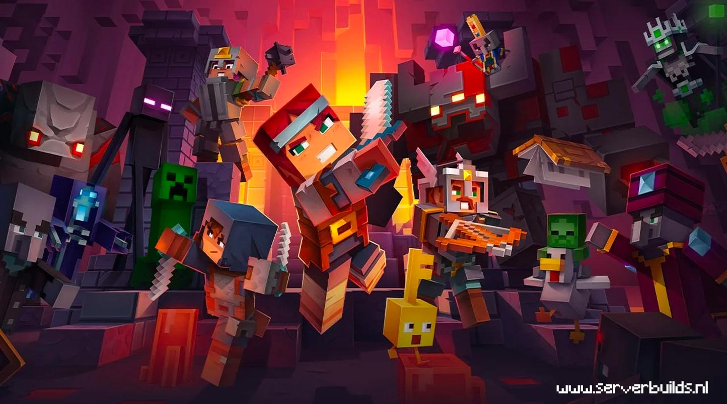 Minecraft Dungeons mobs