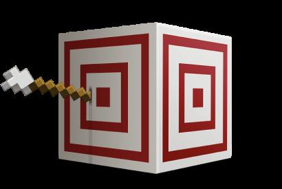 Traget block Minecraft
